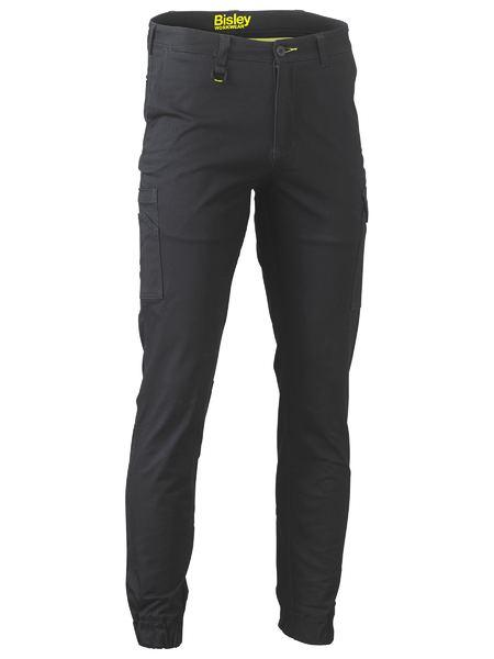 Bisley Stretch Cotton Drill Cargo Cuffed Pants (BPC6028)