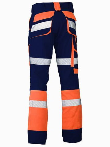 Bisley Taped Biomotion Contrast Hi Vis Pant (BP6412T)