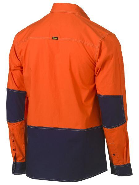 Bisley Flex & Move Hi Vis Utility Shirt (BS6177)