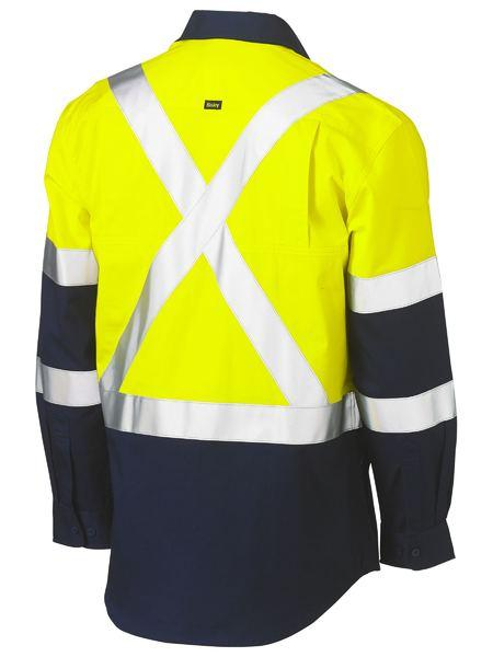 Bisley 3M X Taped Hi Vis Cool Lightweight Shirt (BS6696XT)