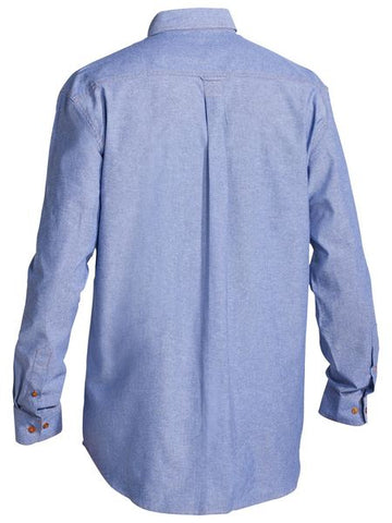 Bisley Chambray Shirt - Long Sleeve-(B76407)