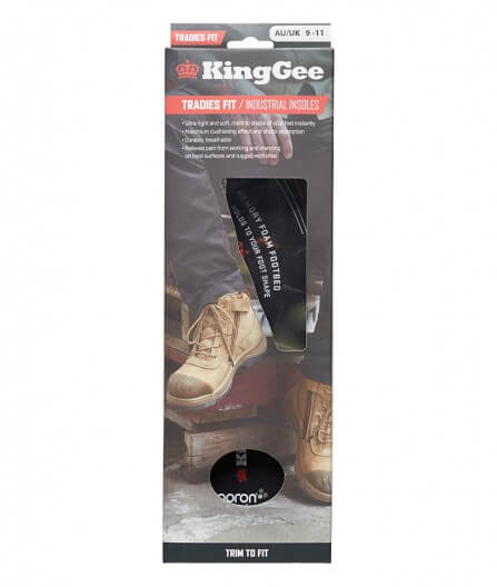 King Gee Tradies  Insoles (K09500)