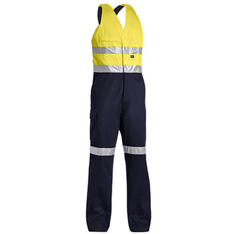 Bisley 3M Taped Hi Vis Action Back Overall-(BAB0359T)