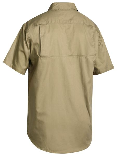 Bisley Cool Lightweight Drill Shirt - Short Sleeve-(BS1893)