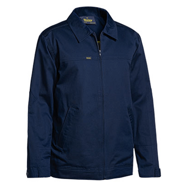 Bisley Cotton Drill Jacket With Liquid Repellent Finish-(BJ6916)