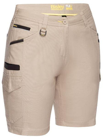 Bisley  Women's Flx & Move™ Cargo Short-(BSHL1044)