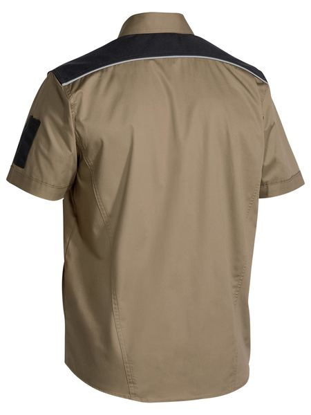 Bisley FLEX & MOVE™ Mechanical Stretch Shirt Short Sleeve-(BS1133)