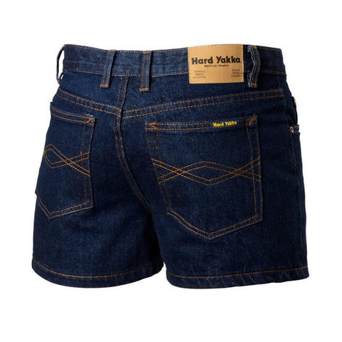 Hard Yakka  Enzyme Washed Denim Short (Y05681)