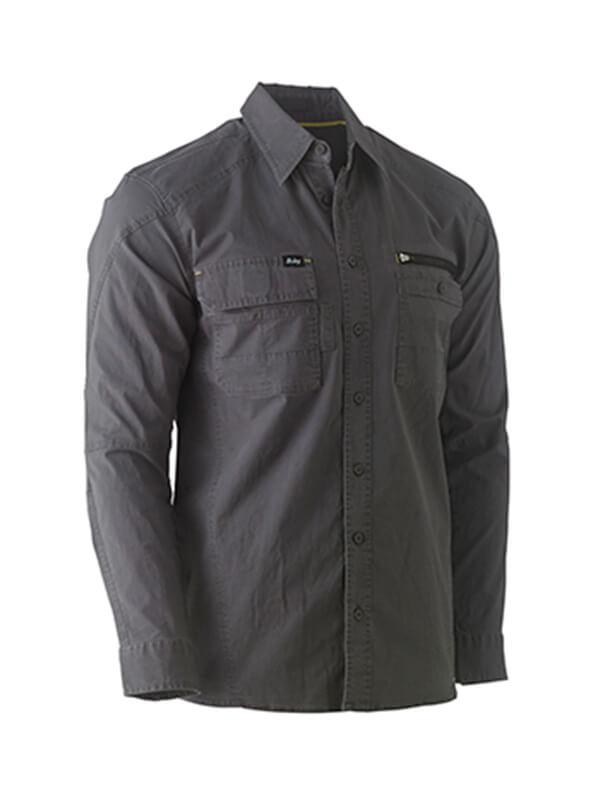 Bisley Flex & Move™ Utility Work Shirt - Long Sleeve(BS6144)