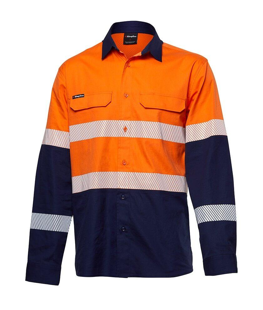 King Gee Workcool Pro Bio Motion Shirt L/S (K54028)