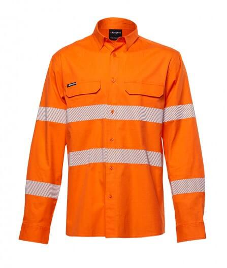 King Gee Workcool Pro Bio Motion Shirt L/S (K54031)