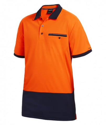 King Gee Workcool Spliced Polo Short Sleeve (K54845)