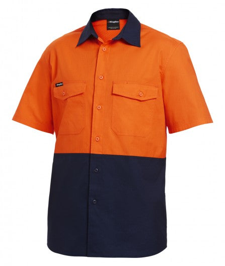 KingGee Workcool 2 Spliced Shirt S/S ( K54875)