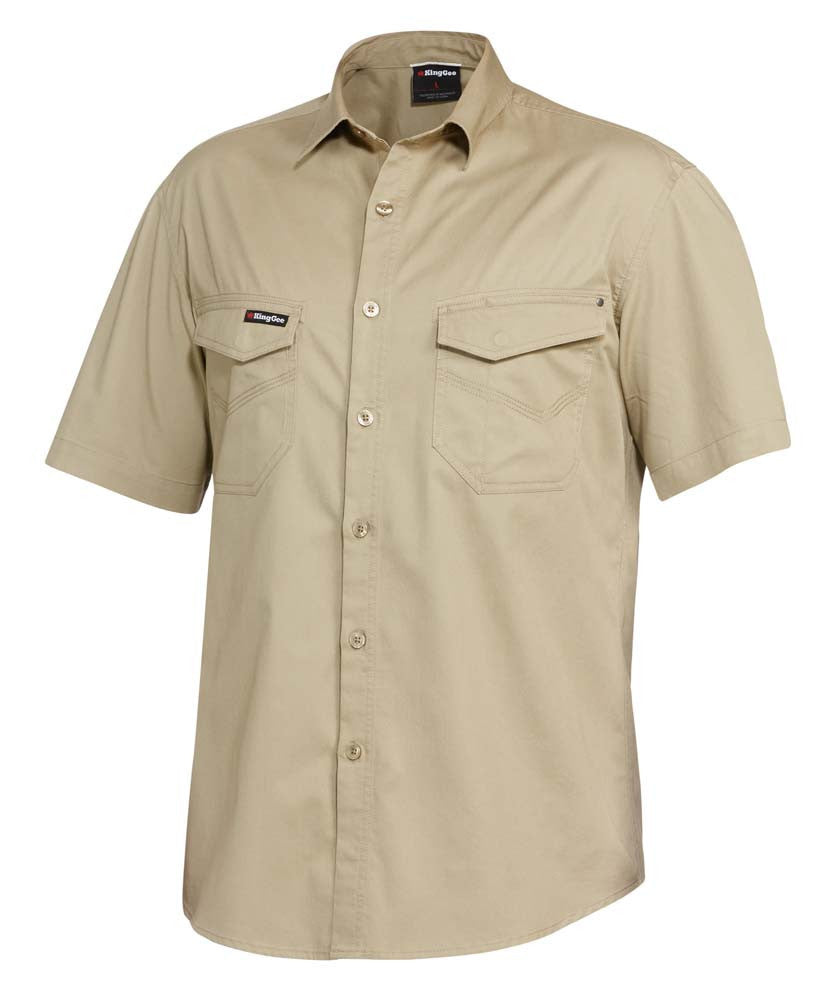King Gee Tradies Shirt S/S (K14355)
