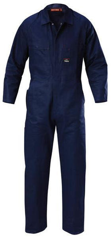 Hard Yakka-Hard Yakka Poly Cotton Coverall-Navy / 72R-Uniform Wholesalers - 4