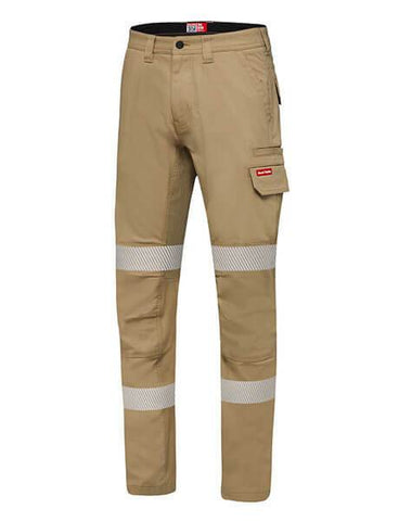 Hard Yakka Reflective Stretch Canvas Cargo Pant (Y02855)