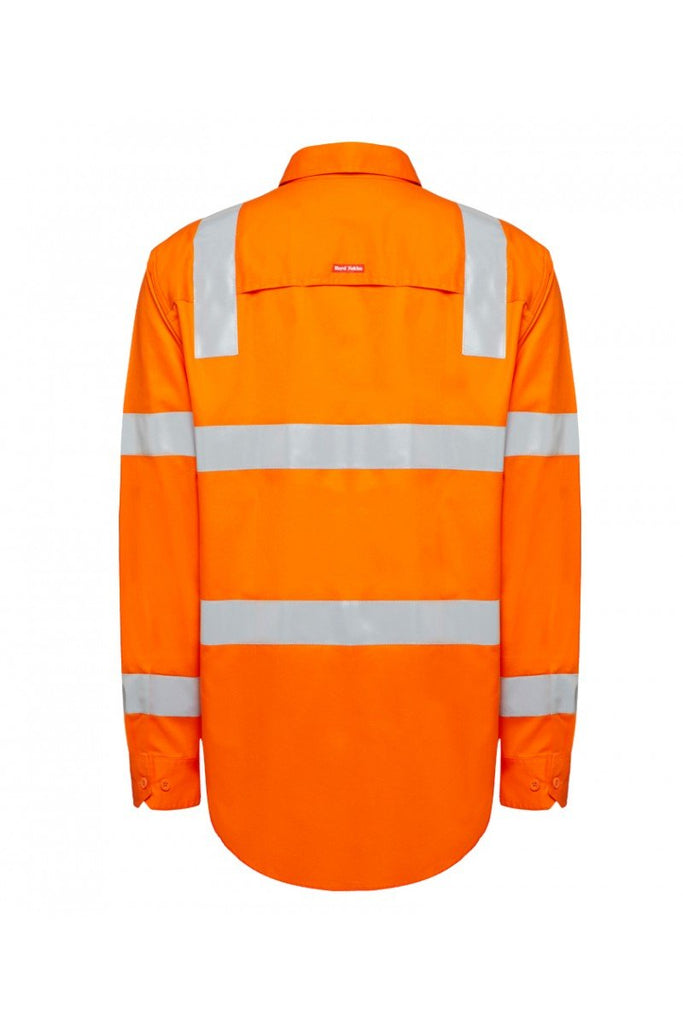 Hard Yakka Biomotion Hi Vis Shirts with tape (Y04265)