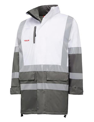 Hard Yakka Biomotion Infrastructure Two Tone Jacket With H Front X Back Tape (Y06174)