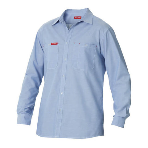 Hard Yakka Foundations Chambray Long Sleeve Shirt (Y07338)