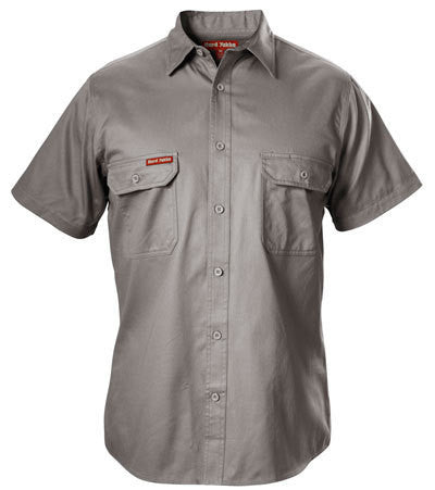 Hard Yakka Cotton Drill Shirt Short Sleeve (Y07510)