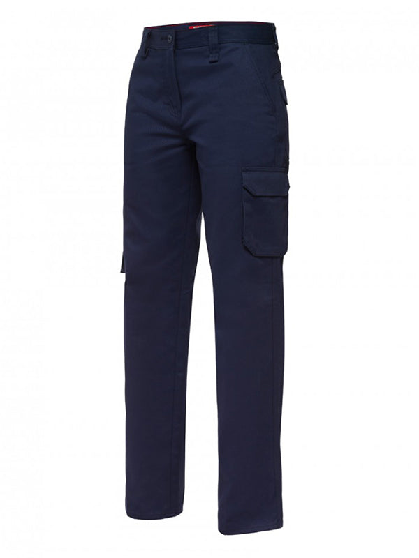 Hard Yakka Women's Generation Y Cotton Drill Cargo Pants (Y08850)