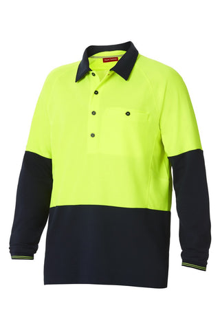 Hard Yakka Koolgear Hi-Visibility Two Tone Ventilated Polo (Y11389)