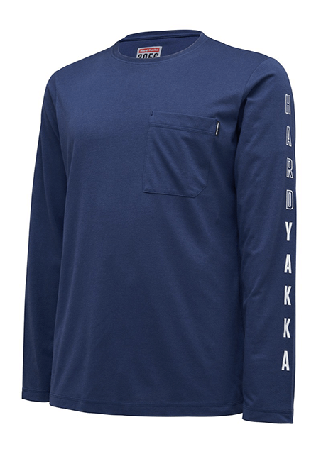 Hard Yakka 3056 LS Graphic Tee (Y11615)