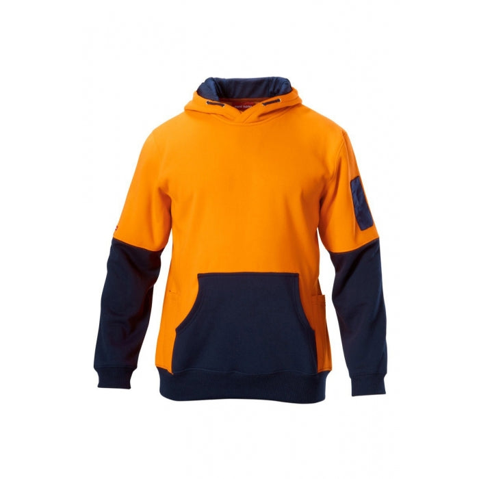 Hard Yakka  Hi-visibility Two Tone Brushed Fleece Hoodie (Y19325)