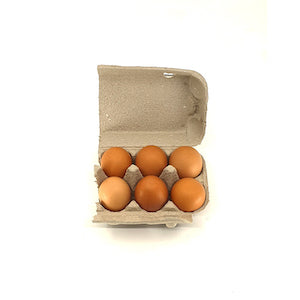 Six Organic Eggs - Local Organic Delivery