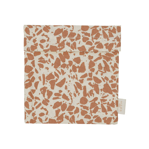 NEW! Sandwich Bag - Warm Terracotta Terrazzo
