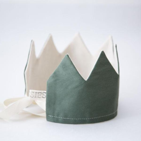 NEW! Reversible Olive Green Crown