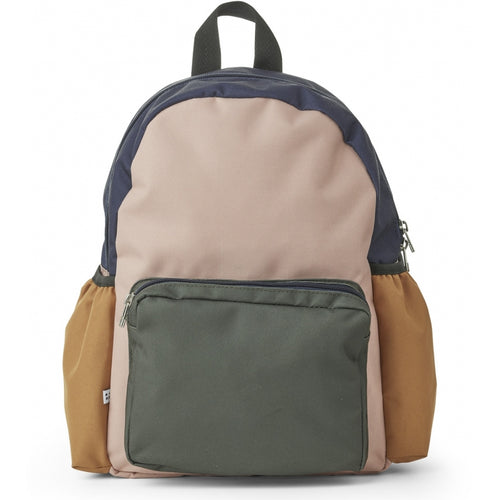 Wally School Back Pack  - Rose Multi Mix (4471813046355)