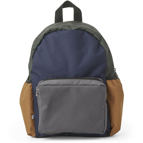Wally School Back Pack  - Navy Mix (4471813242963)