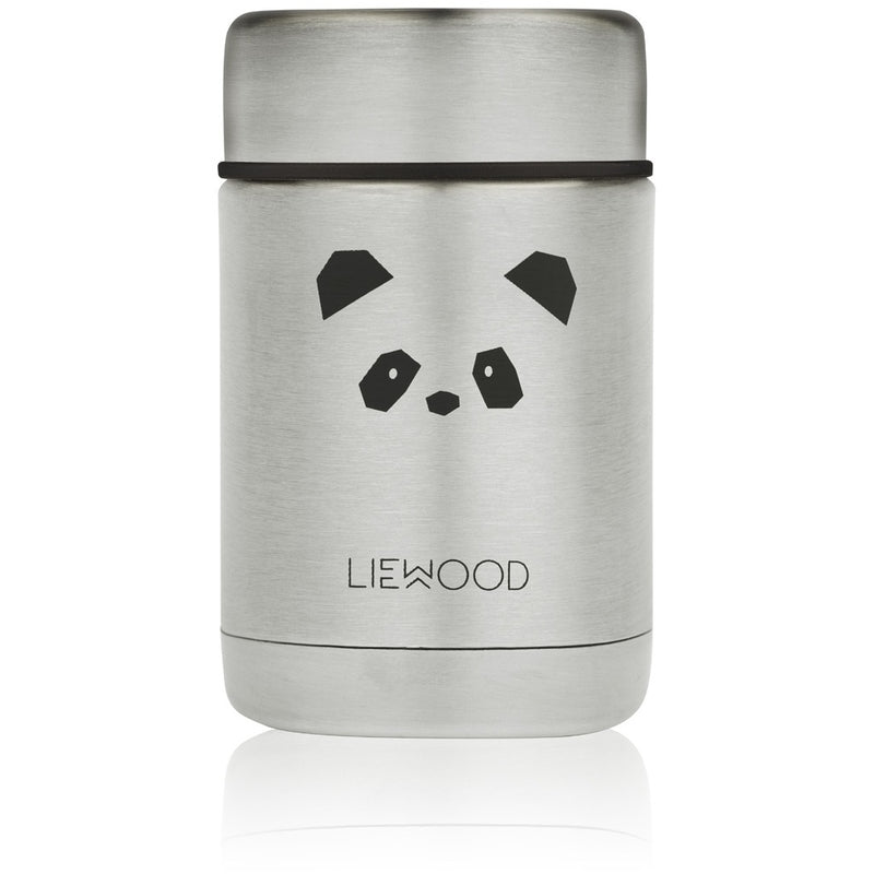 Nadja Food Jar - Panda Stainless Steel (4472806867027)