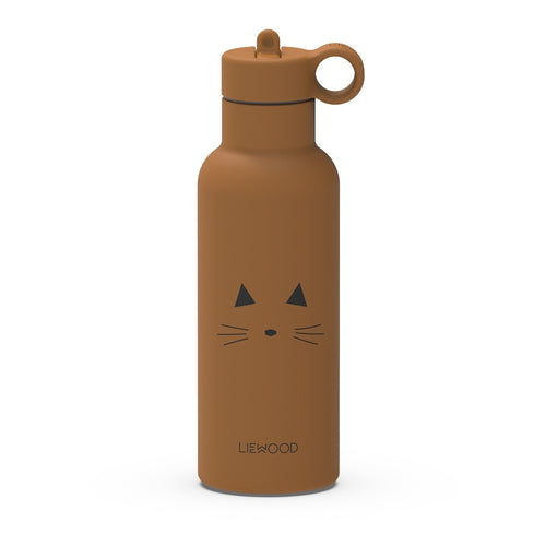 Neo Water Bottle - Cat Mustard (4471827562579)