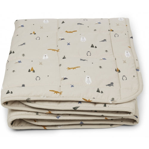 Ebbe Quilted Blanket - Arctic Mix (4471740694611)