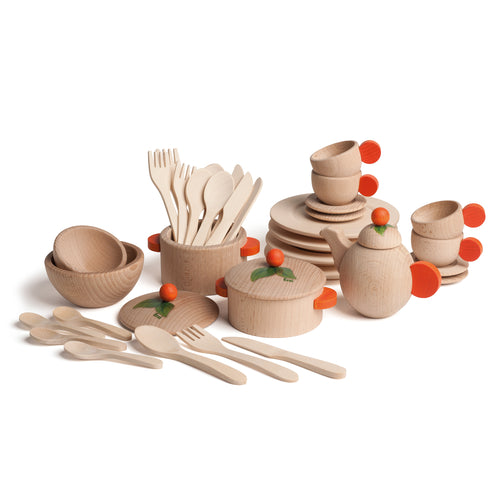 Large Set of Natural Dishes (4429456572499)