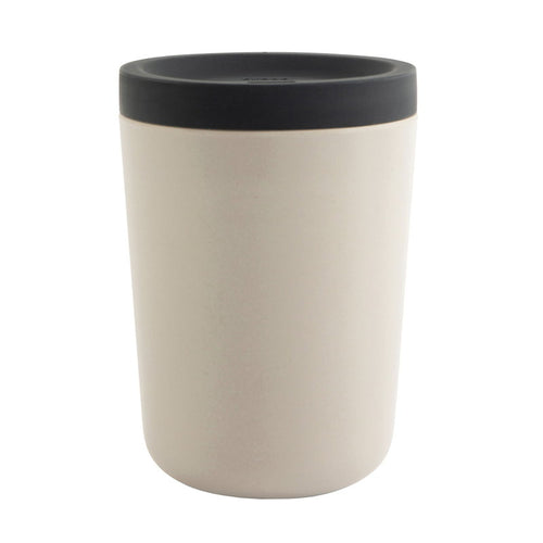 Go Reusable Coffee Cup - Stone (4455601143891)