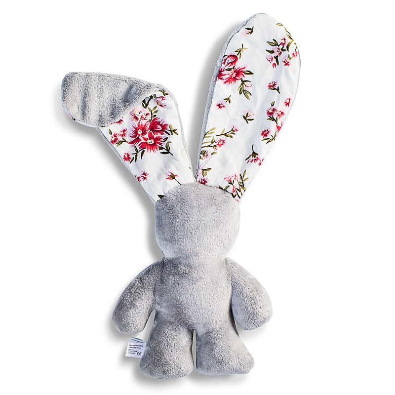 The Original Snuggle Bunny - Grey and Floral (4328106262611)