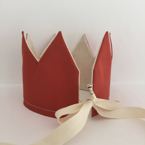 NEW! Reversible Stone Red Crown