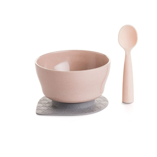 NEW! Bamboo Bowl First Bites Set