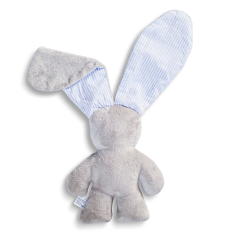 The Original Snuggle Bunny - Grey and Pinstripe (4328105869395)