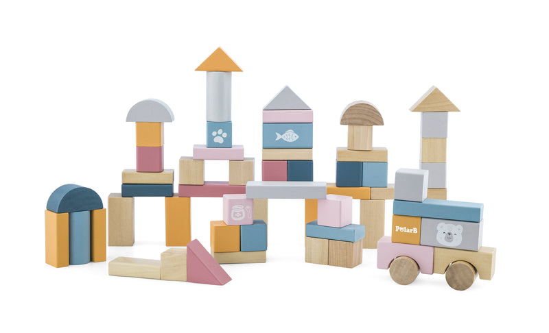 Wooden Blocks - 60pcs (4448859422803)