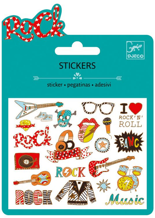 Mini Stickers - Pop and Rock (4466131730515)
