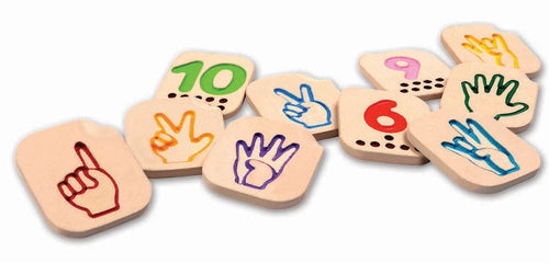 Wooden Hand Sign Numbers 1-10 (4702051270739)