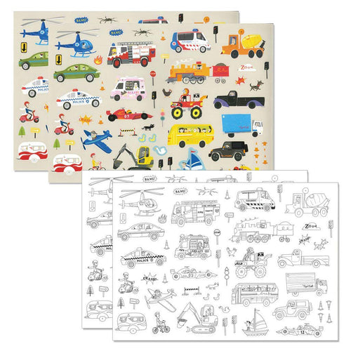 Sticker World - On the Move (4414811406419)