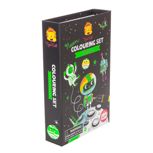 Neon Coloring Set - Outer Space (4264530706515)