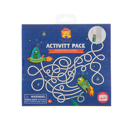 Activity Pack - Monsters & Aliens (4731412283475)
