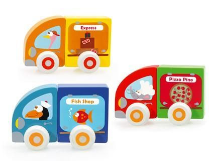 Small Magnetic Cars (3 cars/6 pcs) (4416398196819)
