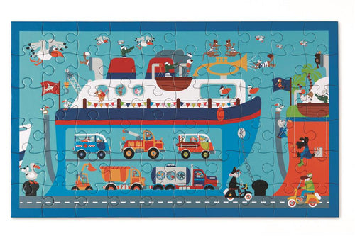 Puzzle - Ferry Boat (60 pcs) (4416399507539)